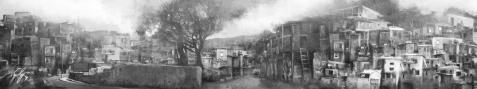 Illustrazione sfondo San Paolo in Brasile