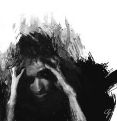 Illustrazione paura