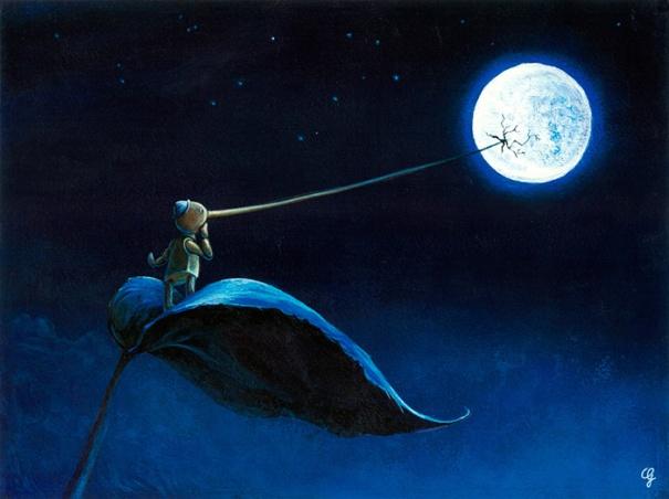 Il naso di Pinocchio fino alla Luna