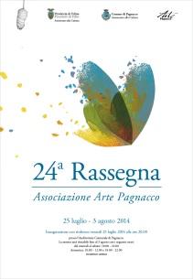 Locandina 24a Rassegna Arte Pagnacco