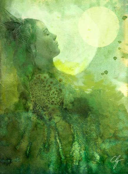 Illustrazione Sogno Verde