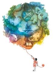Illustrazione mondo di fantasia TIG