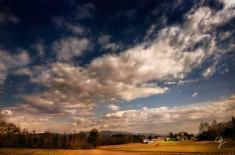 Fotografia cieli e campagna friulana