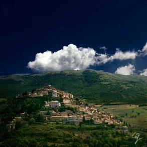 Fotografia di Trevi in Umbria