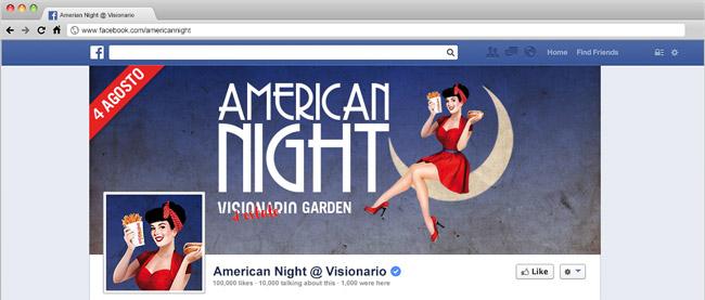 American Night Visionario Udine