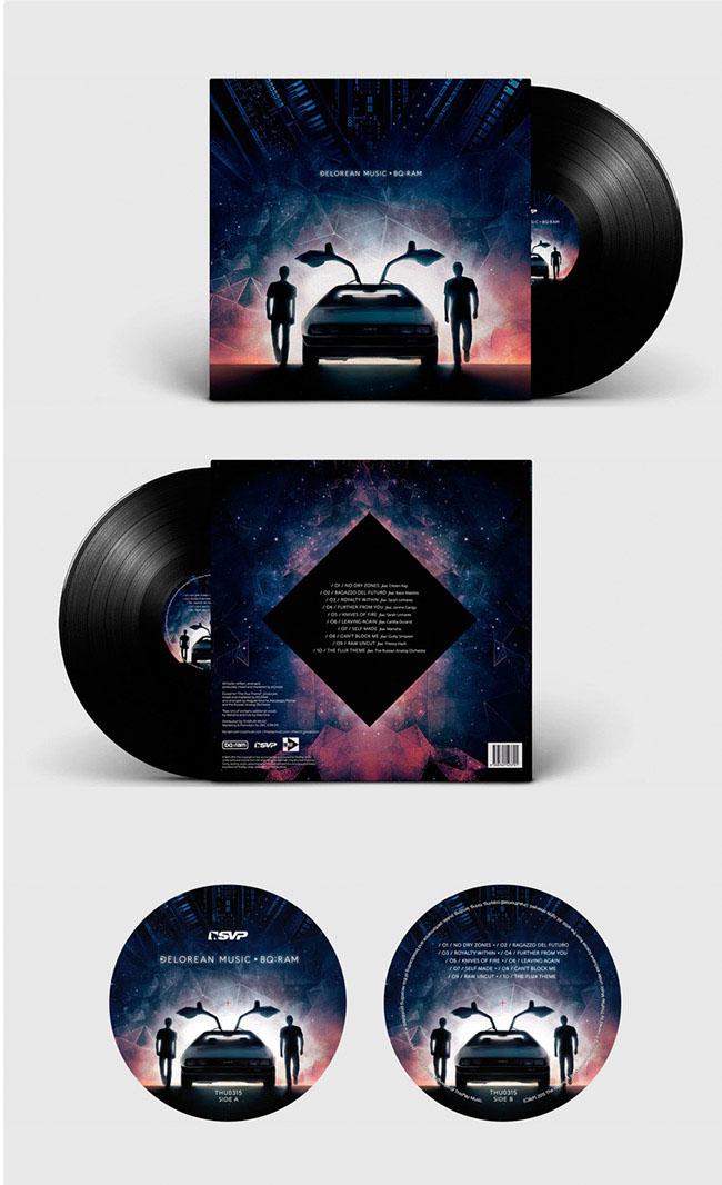 DeLorean Music Bq:Ram Vinile