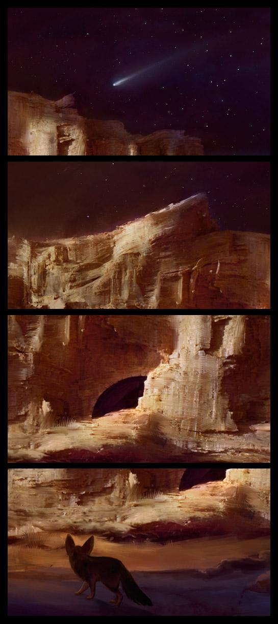 deserto cometa fennec